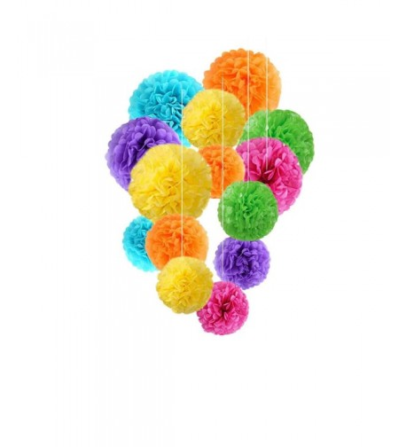 Fadesun Assorted Rainbow Birthday Decorations