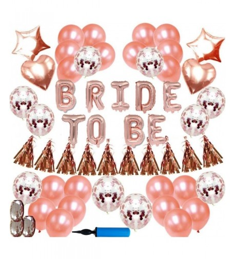 Rose Gold Bachelorette Party Decorations