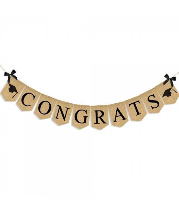 Congrats Graduation Banner Graduation Caps 2018 Banner Graduation Party Supplies Cap Design For College High School Doctorate Kids Nursing Graduates C918d2a74wr