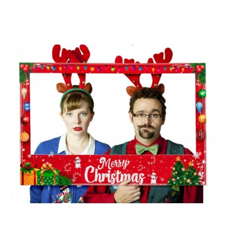 Christmas Photo Booth Prop Frame