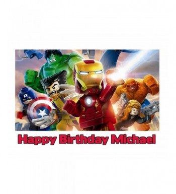 Avengers Personalized Custom Customized Birthday