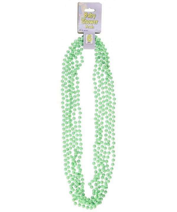 Baby Shower Beads mint green