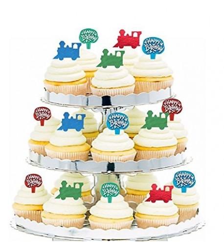 CakeSupplyShop Birthday Appetizer Cupcake Decoration