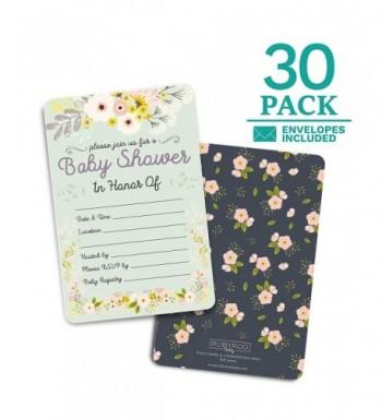 Baby Shower Invitations envelopes Decorations