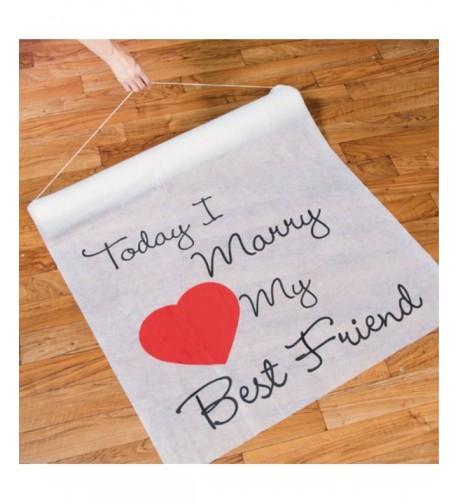 TODAY FRIEND Wedding Runner Bridal