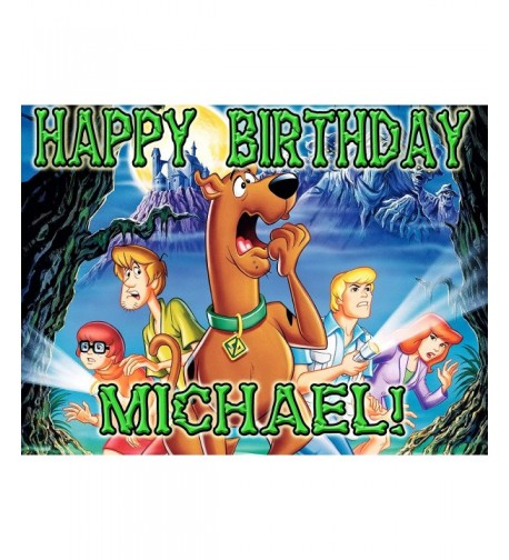 Scooby Doo Edible Birthday Topper Personalized