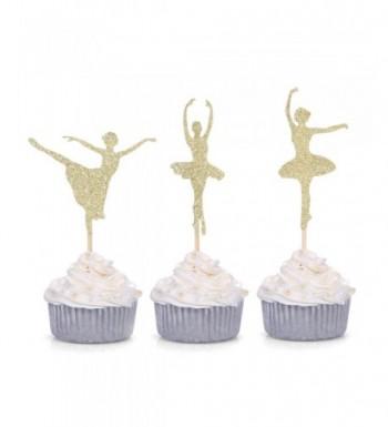 Giuffi Glitter Ballerina Cupcake Birthday