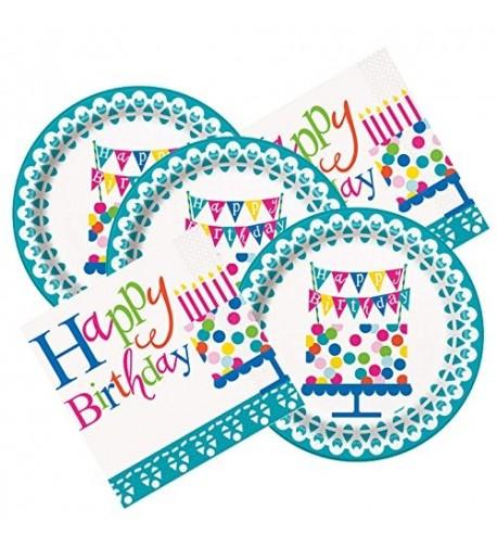 Confeitti Themed Birthday Party Napkins