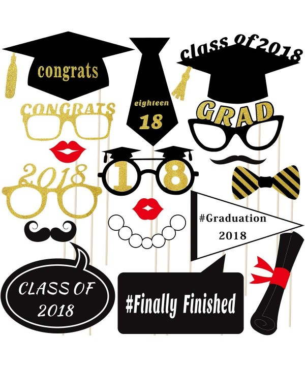 Graduation Photo LUOEM Glitter Favors
