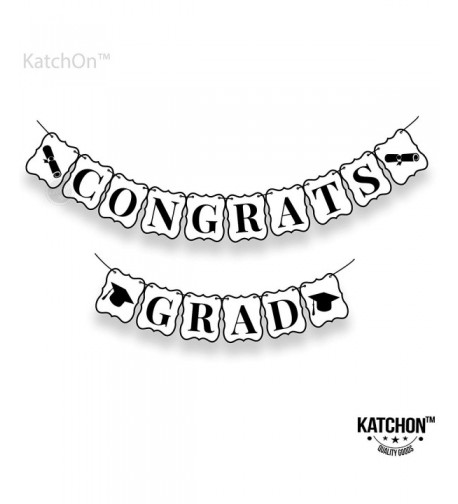 Congrats Grad Banner Graduation Decorations