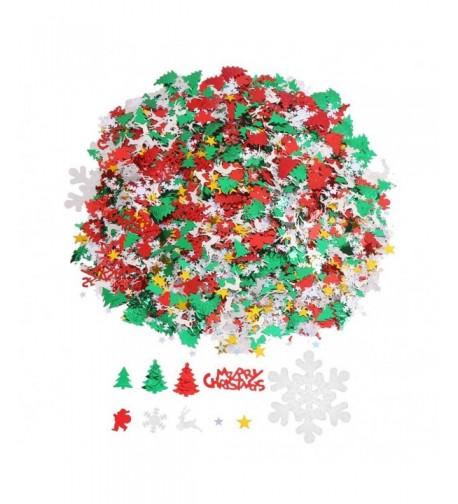 CCINEE Christmas Metallic Confetti Decoration