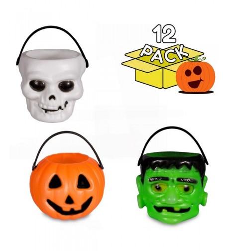 Halloween Pumpkin Candy Holder Decor