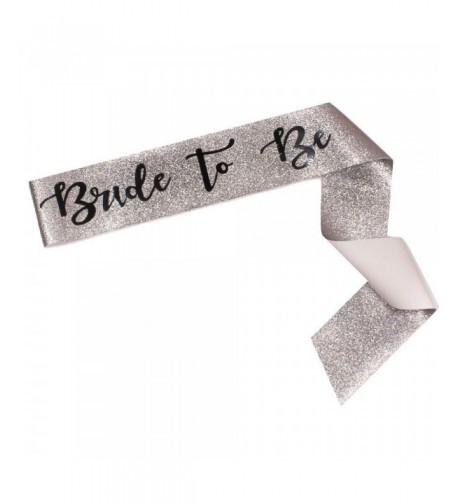 Bride Sparkle Sash Bachelorette Accessories