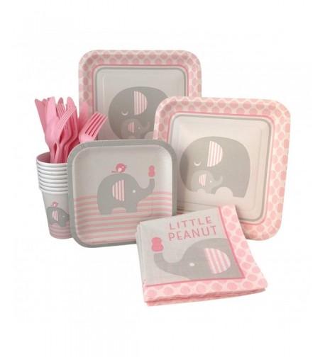 Elephant Shower Supply Napkins Silverware