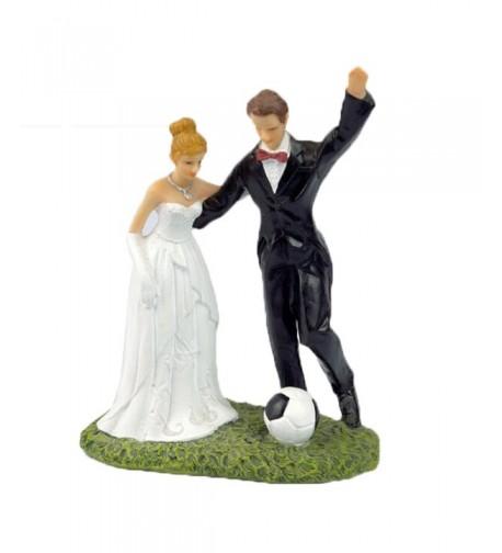 Happy Cherry Bride Soccer Topper