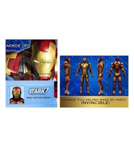 Iron Man Party Supplies Invitations