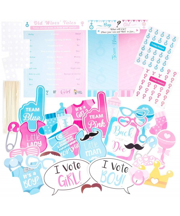 Shower Gender Reveal Posters Stickers