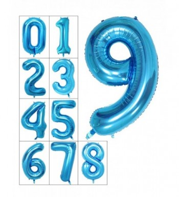 Numbers Helium Digital Balloons Birthday