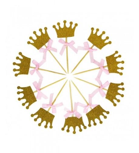 Miraclekoo Glitter Princess Birthday Decorations