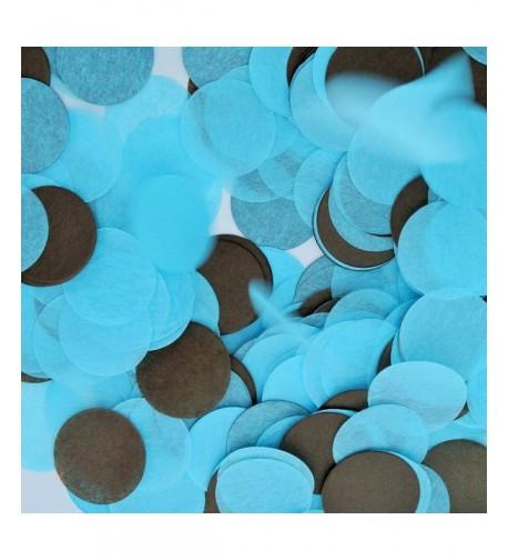 Confetti Circles Different Colors Shower