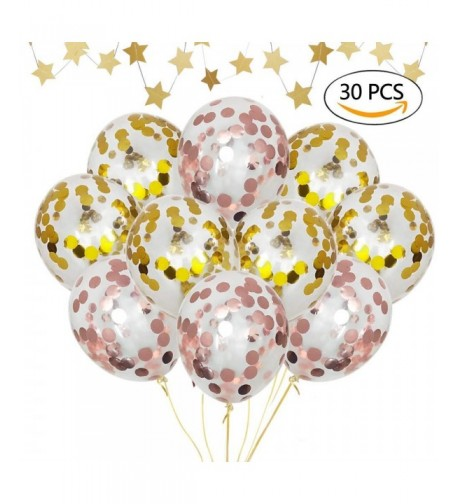 Bchoice Confetti Balloons 30 Balloons Decorations