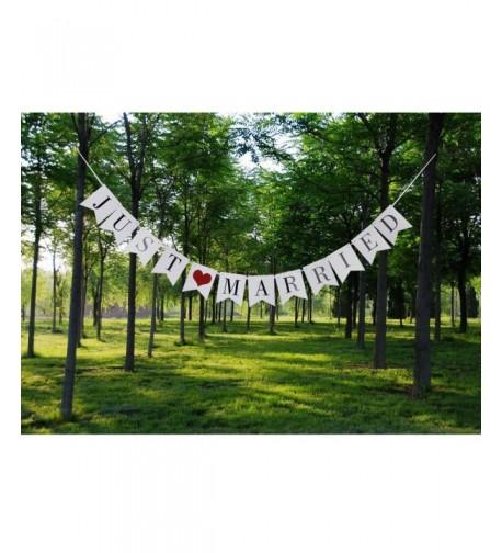 Wedding Banner Married Engagement Decoration
