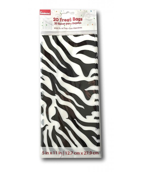 Zebra Stripe Birthday Party Favor