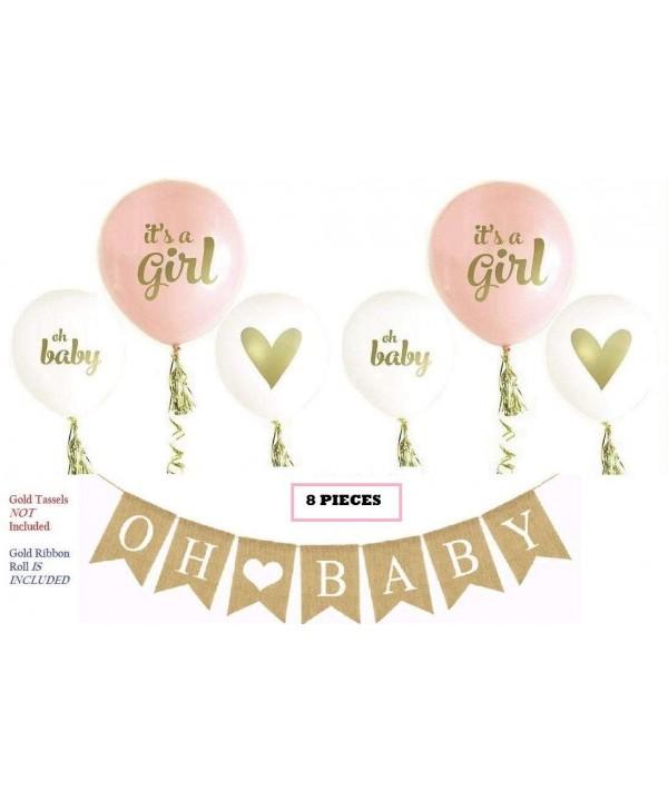 Baby Banner Balloon Set Pre Strung