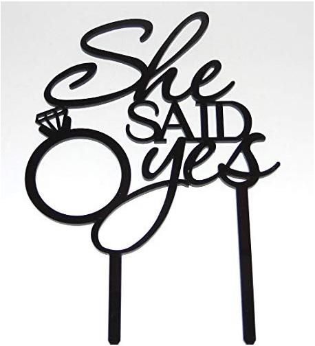 USA SALES Bridal Shower Topper Usa Sales