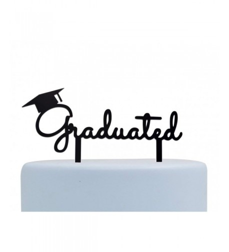 Graduated Topper Graduation Party Supplies Black