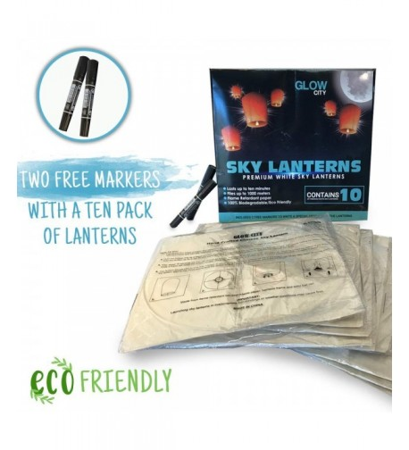 Glow City Wire Free Floating Lanterns