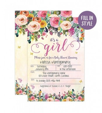 Fashion Baby Shower Party Invitations Online