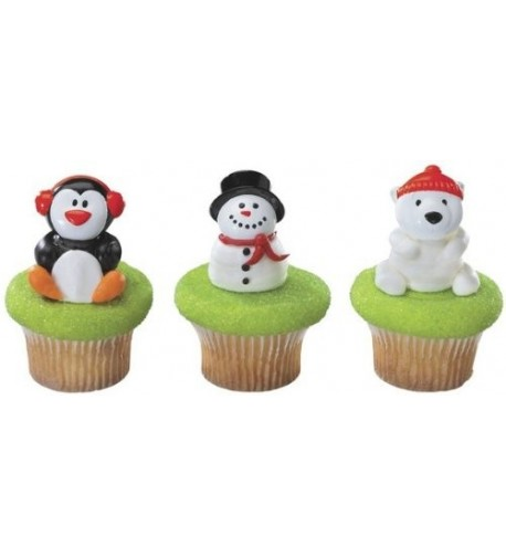 Christmas Holiday Friends Designer Cupcake
