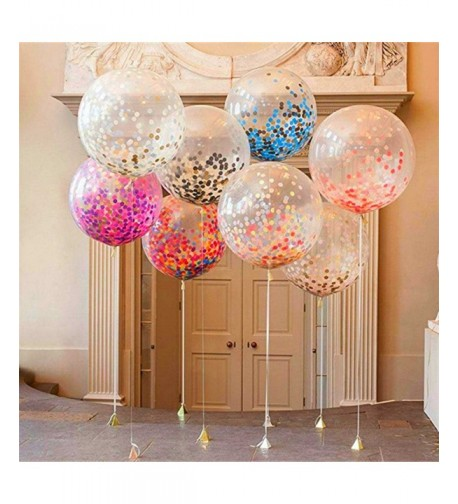 ZEKUI Confetti Balloons Balloon Multicolor
