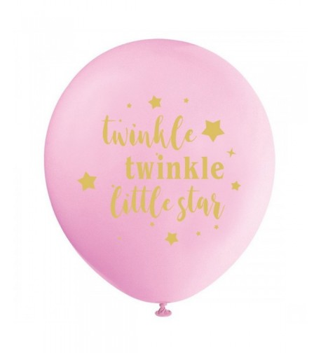 Twinkle Balloons Birthday Decorations Supplies