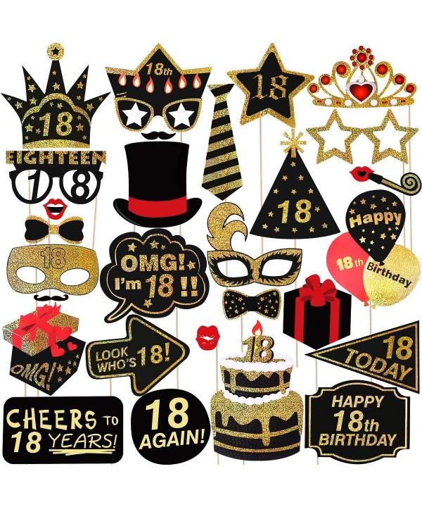 Birthday LUOEM Glitter Accessories Supplies