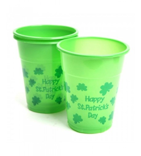 St Patricks Day Disposable Cups