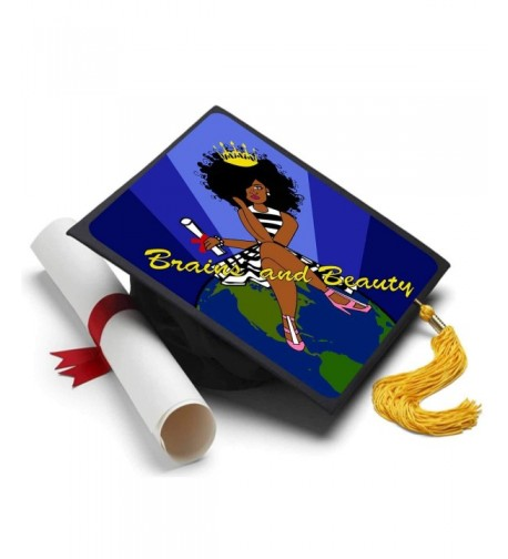 Tassel Toppers Black Queen Inspirational