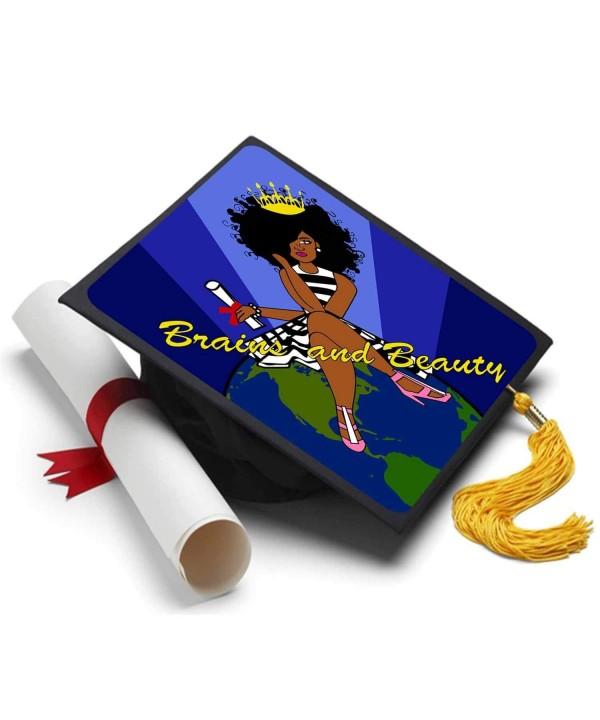 Tassel Toppers Black Queen Inspirational