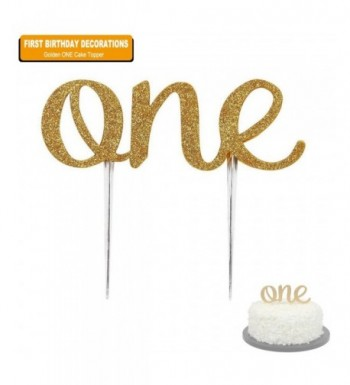 First Birthday Cake Topper Decoration