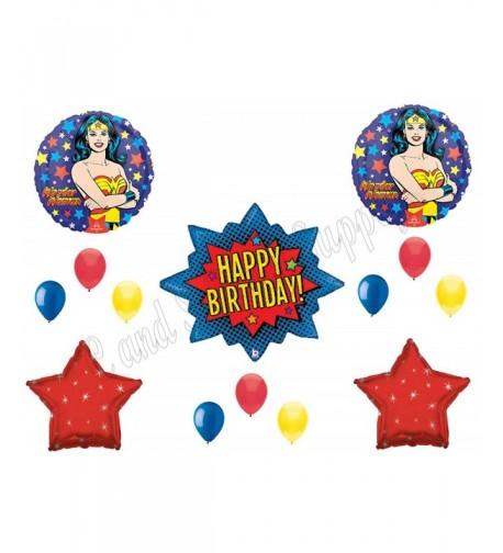 WONDER Birthday Balloons Decoration Supplies