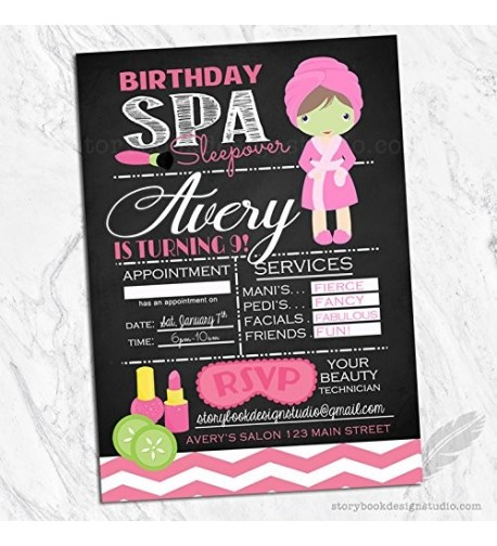 Birthday Invitations Envelopes Included Personalized