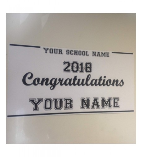 Large Graduation Banner Custom Personalized