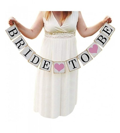 Bride Wedding Banner Garland Decoration