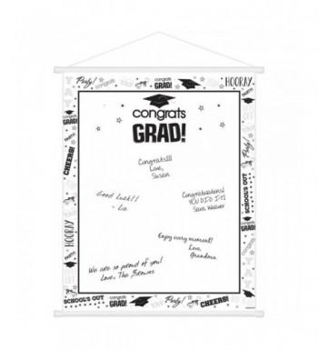 BirthdayExpress White Graduation Supplies Scroll