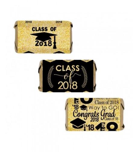 Class Graduation Miniatures Wrapper Stickers