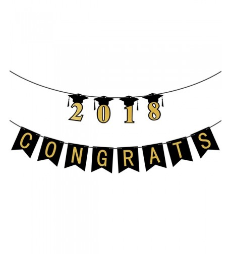 Congrats Graduation Assembled Backdrop Decorations