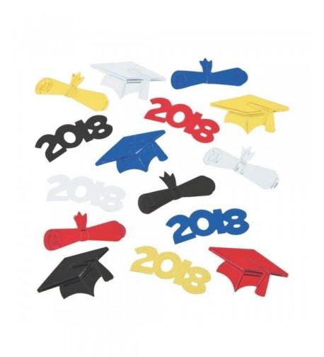 Fun Express Graduation Confetti Decoration