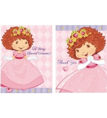Strawberry Shortcake Berry Princess Invitations