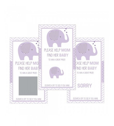 Scratch Cards Shower Elephant Orchid